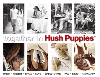 Hush Puppies Billboard and Bus