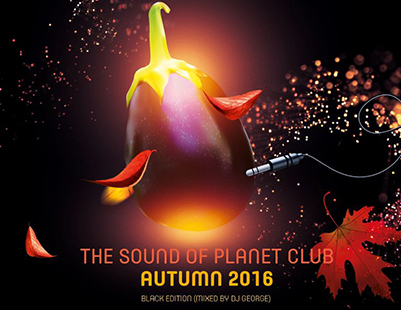 The Sound of Planet Club - Double Music CD Cover Design